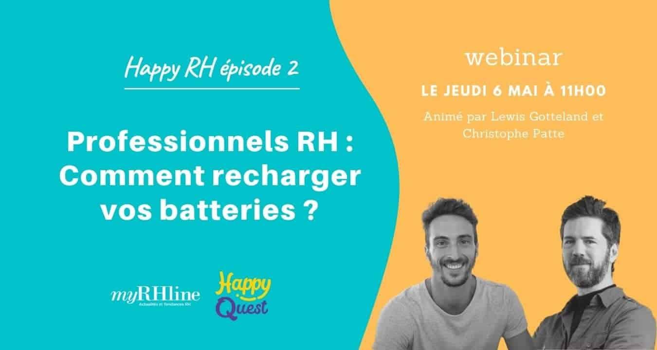 Professionnels RH : Comment recharger vos batteries ?