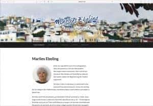 Künstlerin Marlies Ebeling