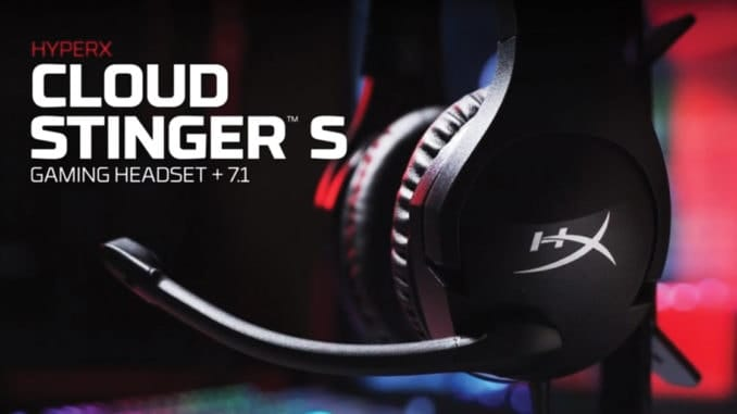 hyperx headset cloud stinger s