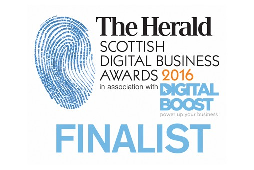 Runner up in the Scottish Digital Business Awards 'Digital Professional of the Year' award.