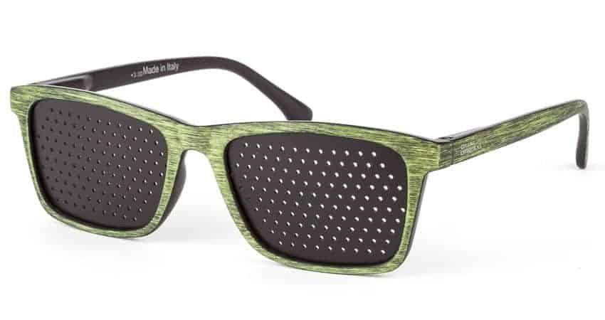 Geos Green Dual Dream occhiali stenopeici