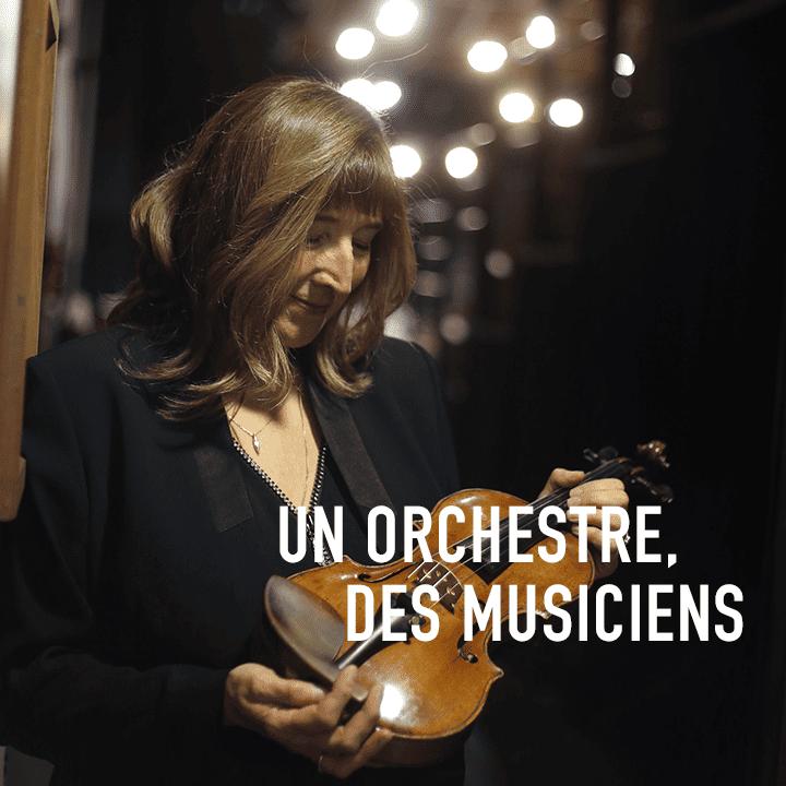 UN ORCHESTRE, DES MUSICIENS – Berthilde Dufour
