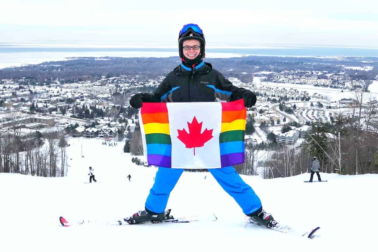 Ontario Gay Ski Weekend at Blue Mountain (Winter Pride)