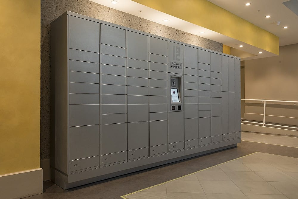 automated package lockers