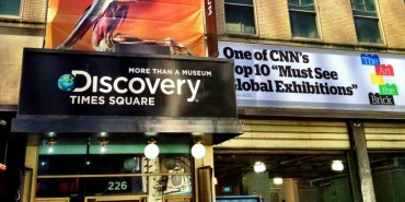 Discovery Times Square Now Included