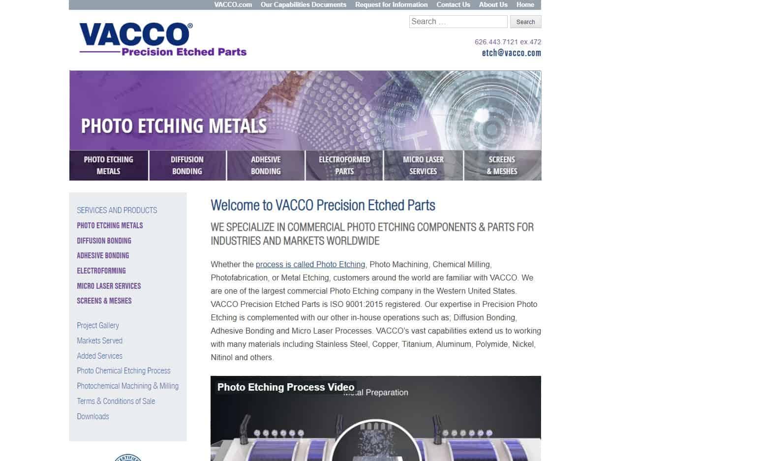 VACCO Industries, Inc.