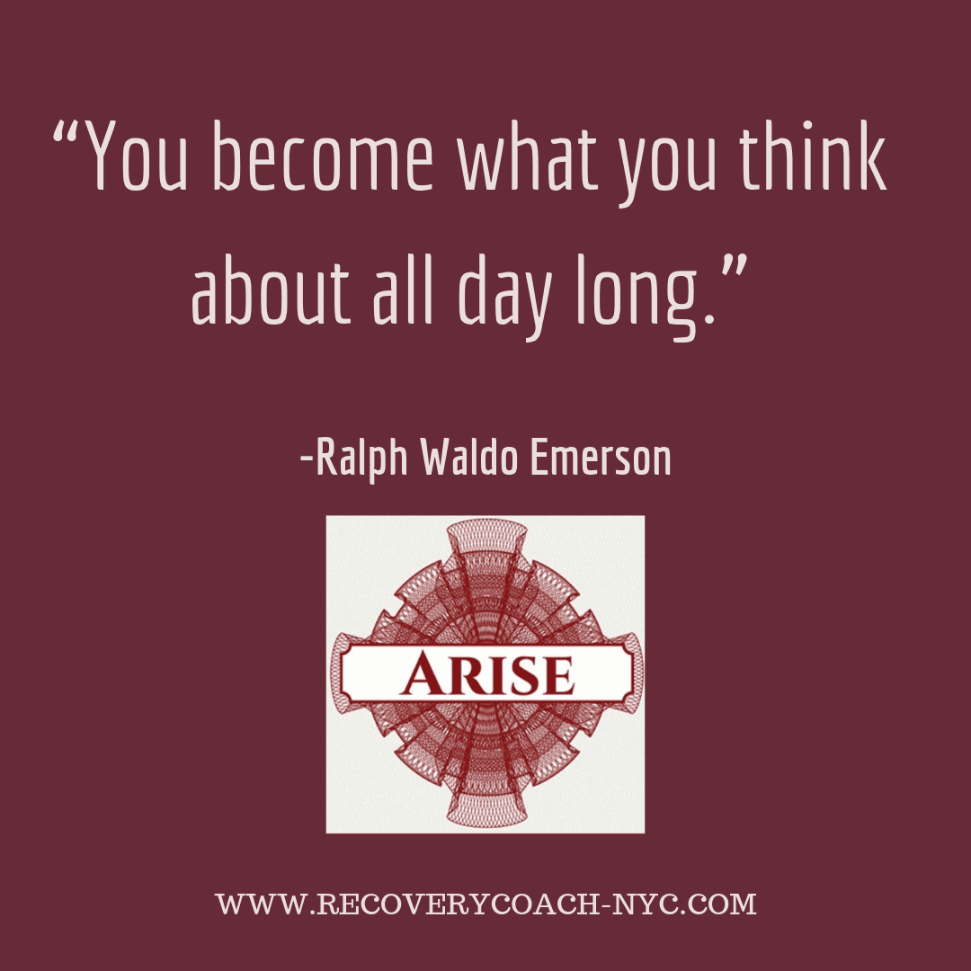 Arise Recovery Coaching Addiction Blogpost Emerson recovery quotes