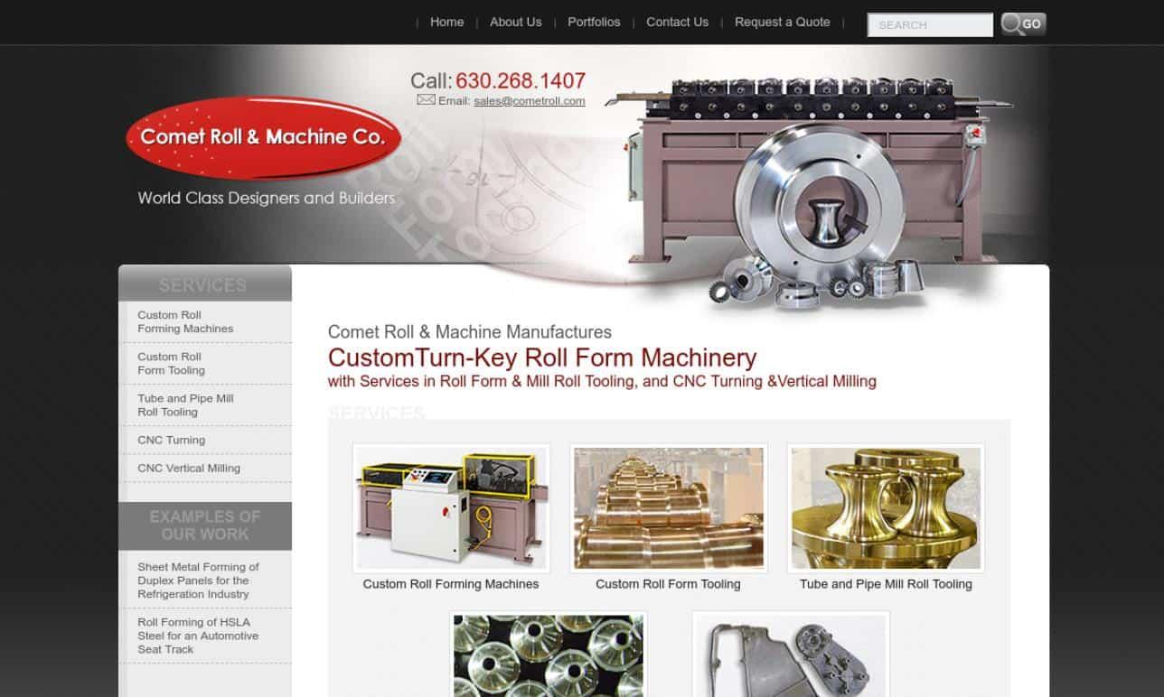 Comet Roll & Machine Co.