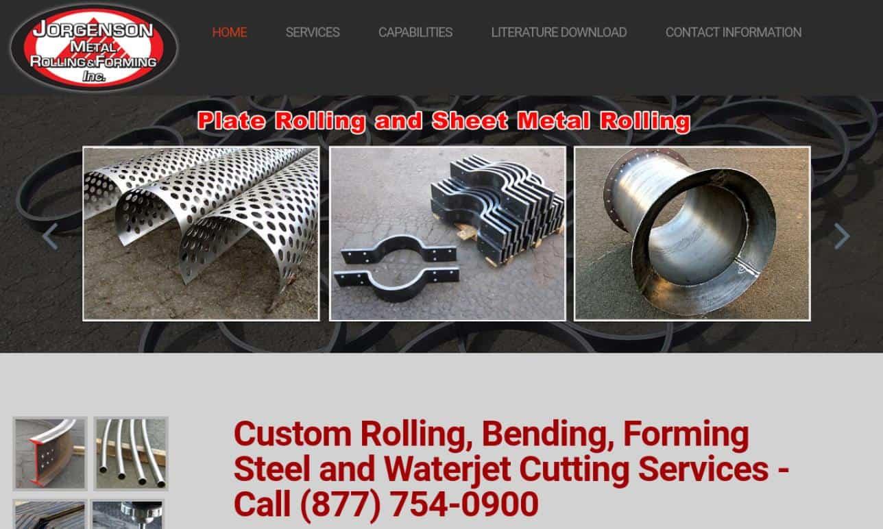 Jorgenson Metal Rolling & Forming Inc.
