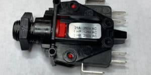 6872-AEO-U126, Airswitch, Latching, Back Entry