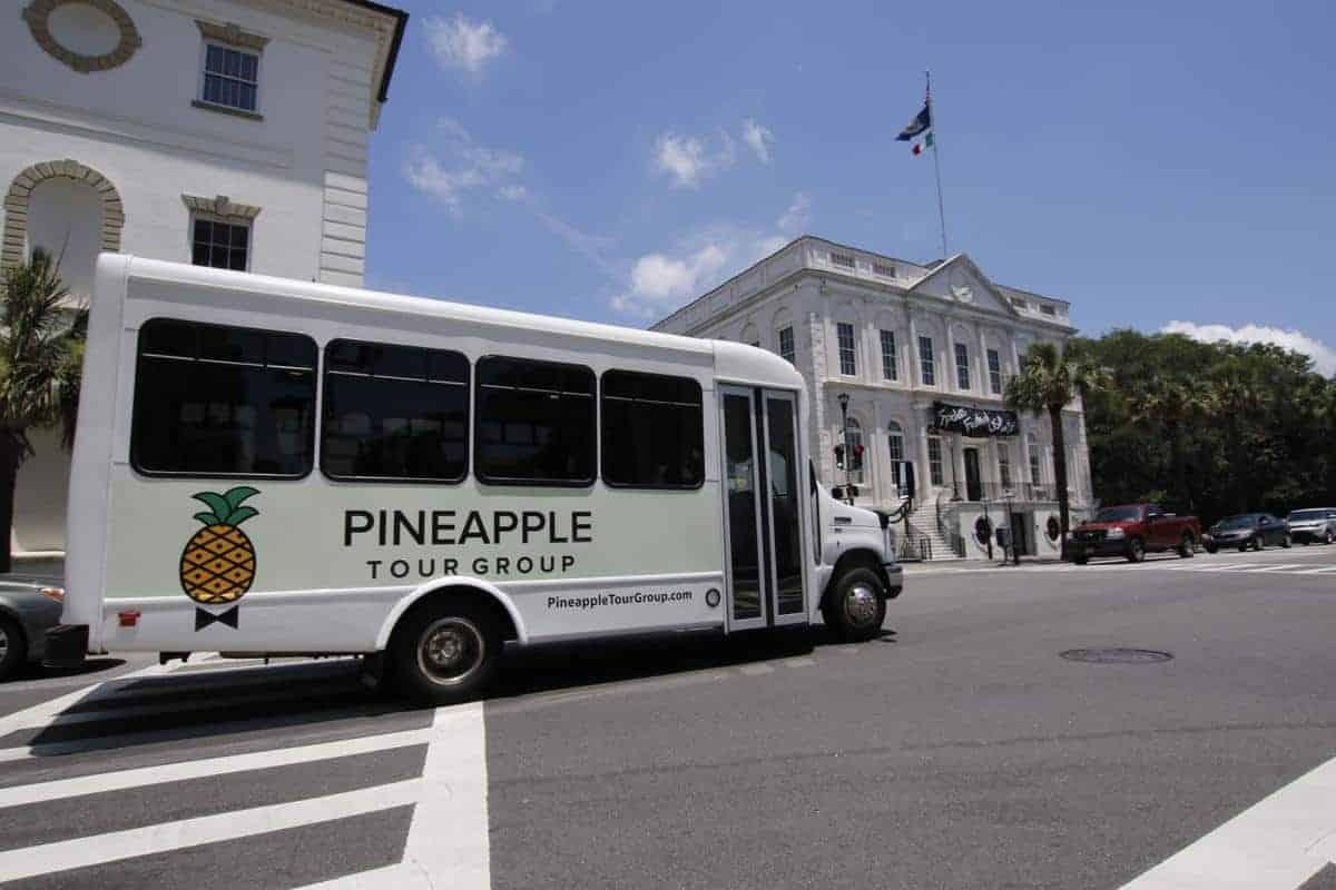Pineapple Tour Group in Charleston