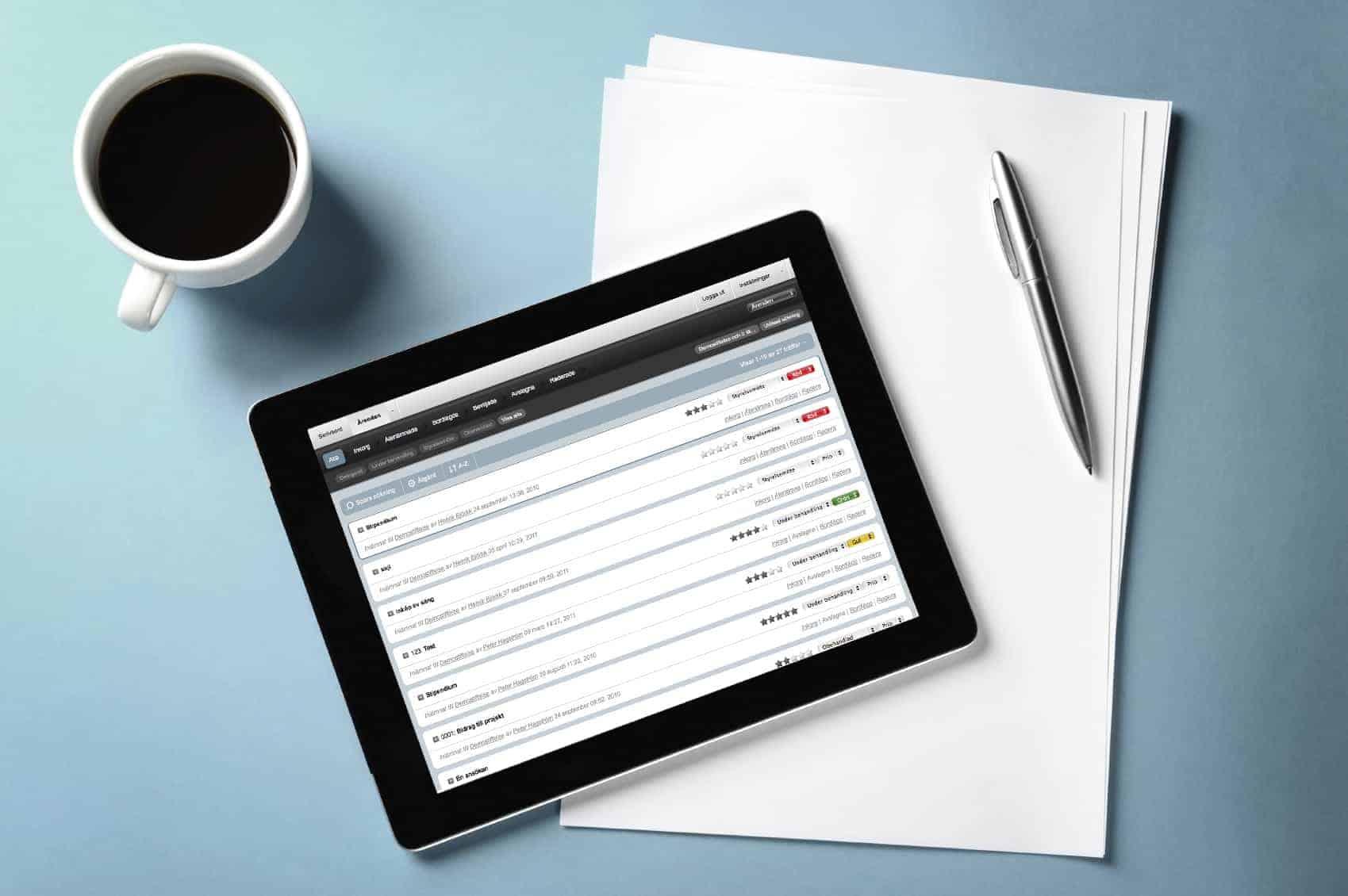 Ledande ansökningssystem snart i ny version
