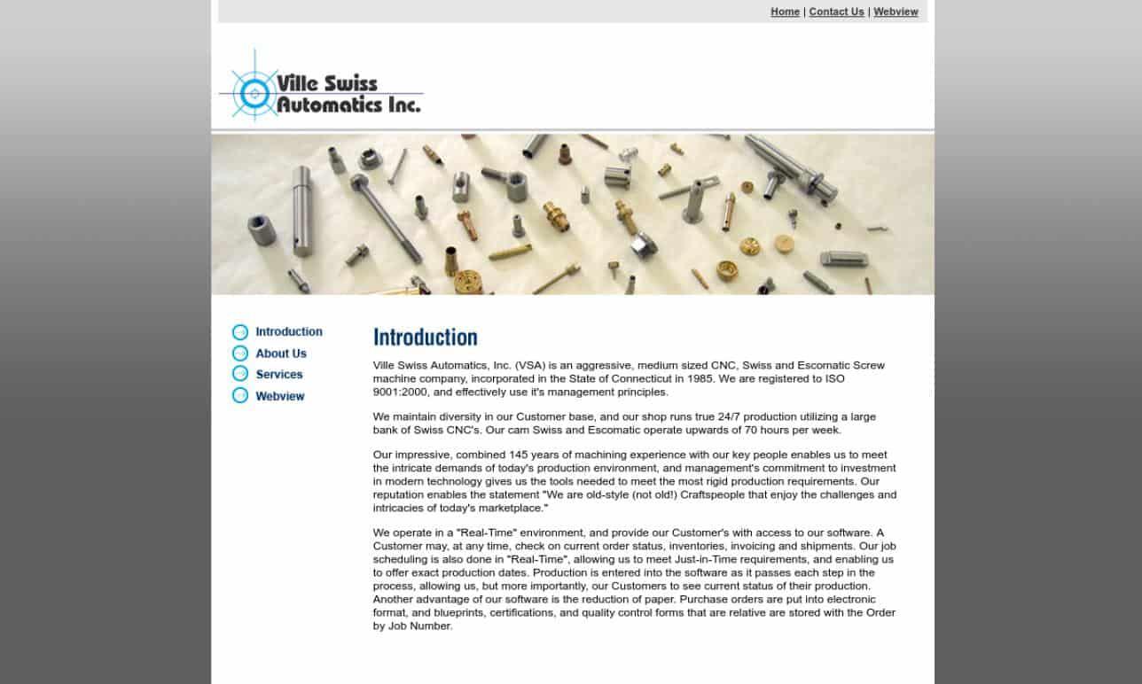Ville Swiss Automatics, Inc.