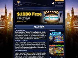 Spin Palace PC Screenshot