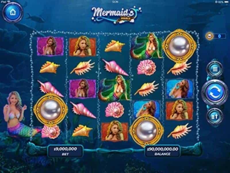 Mermaid's Pearls game screenshot