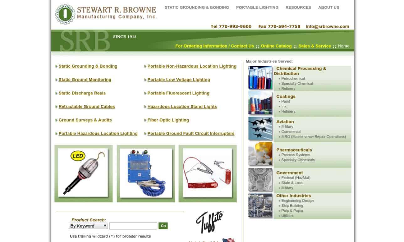 Stewart R. Browne Manufacturing Company, Inc.