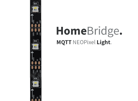 HomeBridge – MQTT NeoPixel