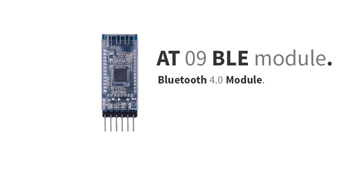 Arduino - AT 09 BLE module - StudioPieters®