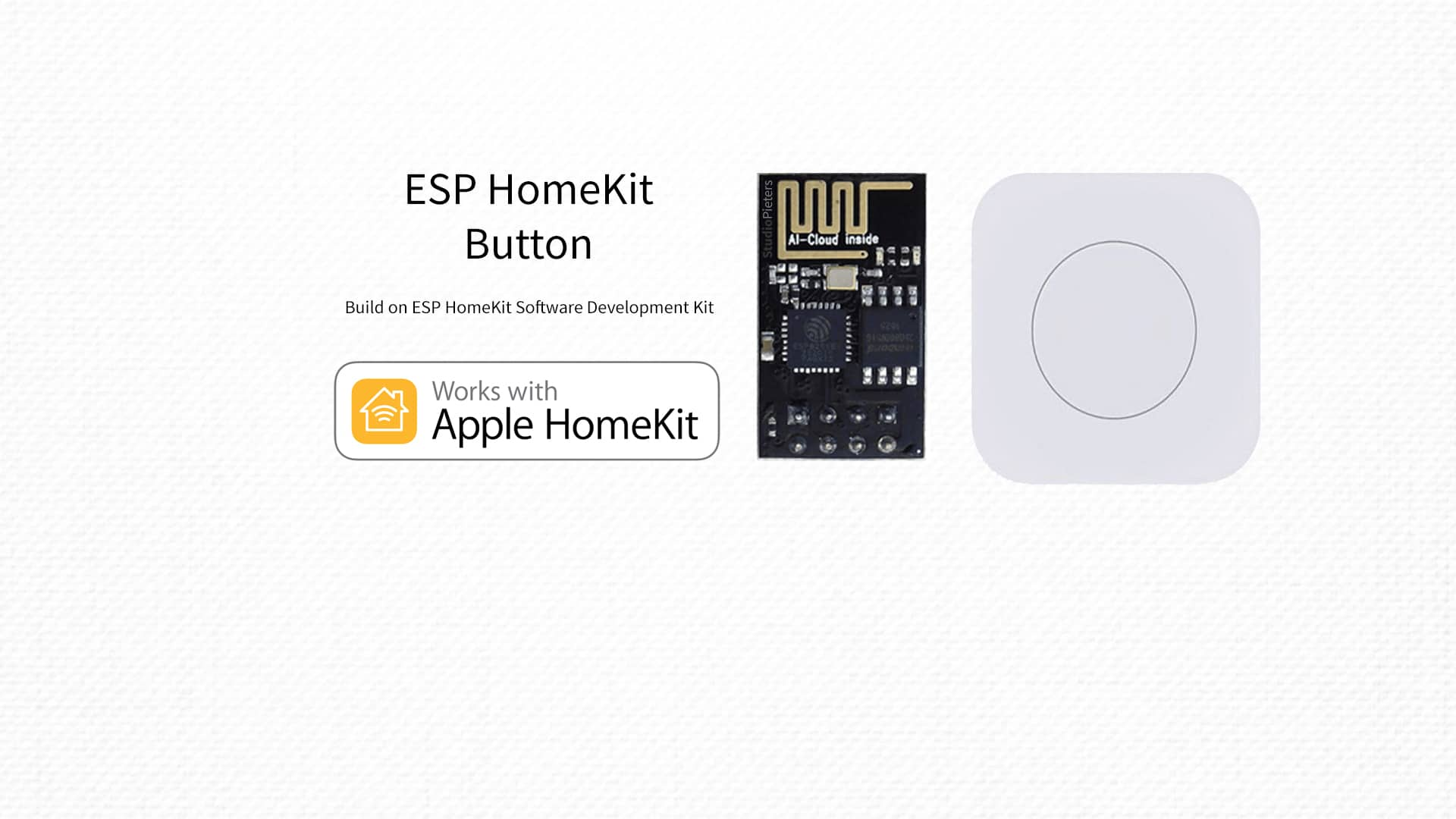 ESP8266 – HomeKit Button