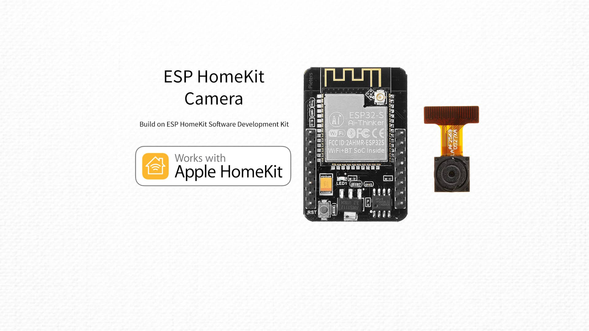 ESP32 – Homekit Camera