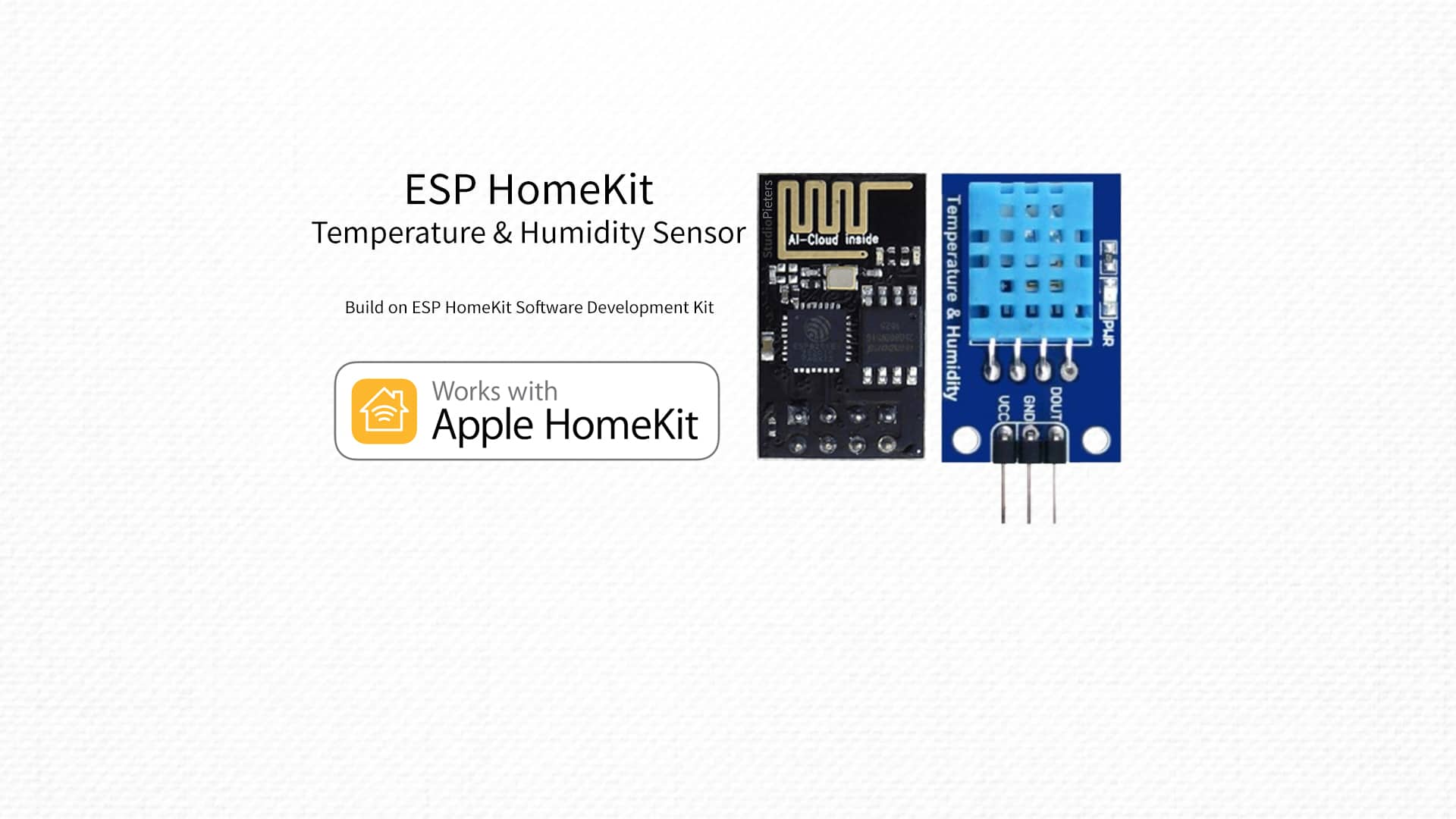 ESP8266 – HomeKit Temperature & Humidity Sensor