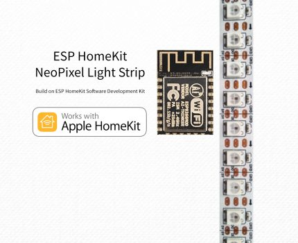 ESP8266 – HomeKit NeoPixel RGBW Light Strip