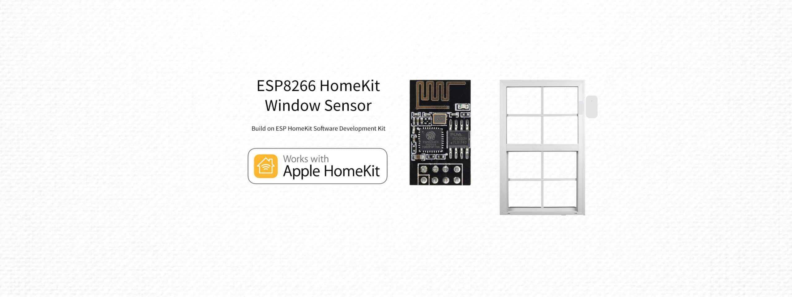 ESP8266 – HomeKit Window Sensor