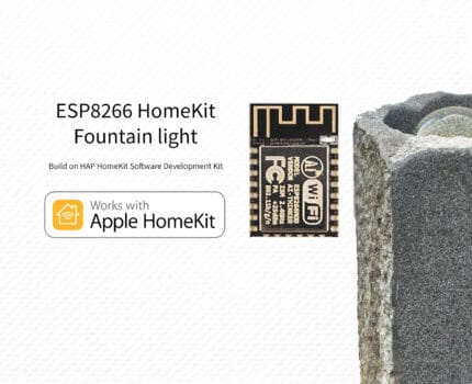 ESP8266 – HomeKit Fountain light