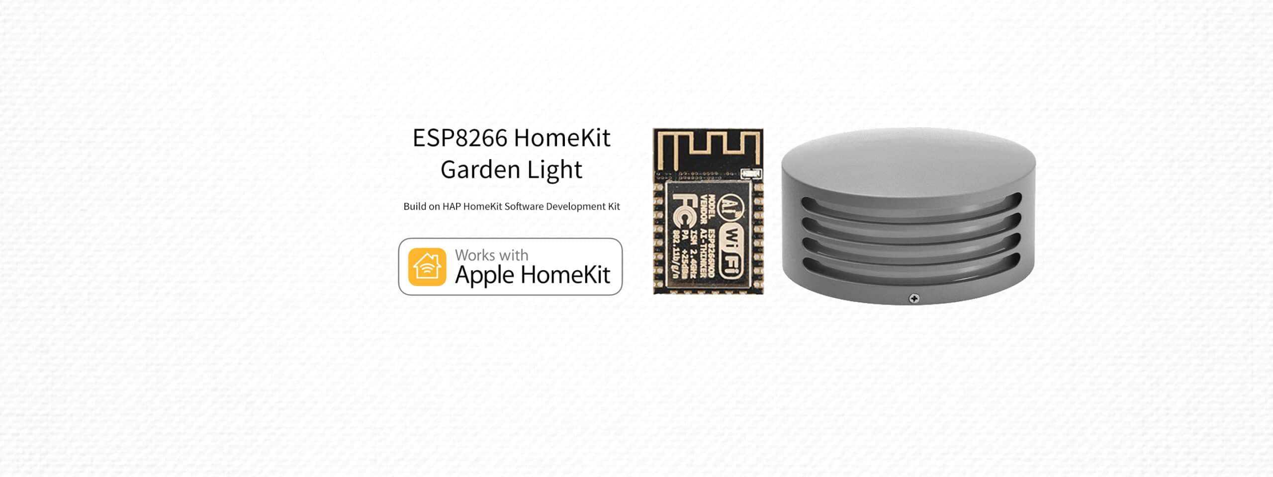 ESP8266 HomeKit – Garden Light