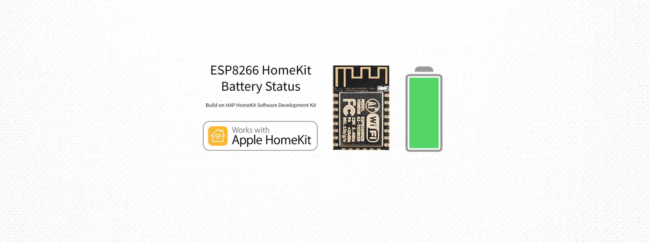 ESP8266 HomeKit – Battery Status