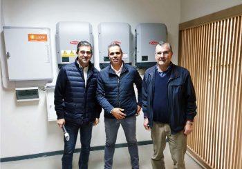 Armazéns Reis em Aveiro dão contributo no combate às alterações climáticas com a instalação de 345 painéis solares pela Sunenergy