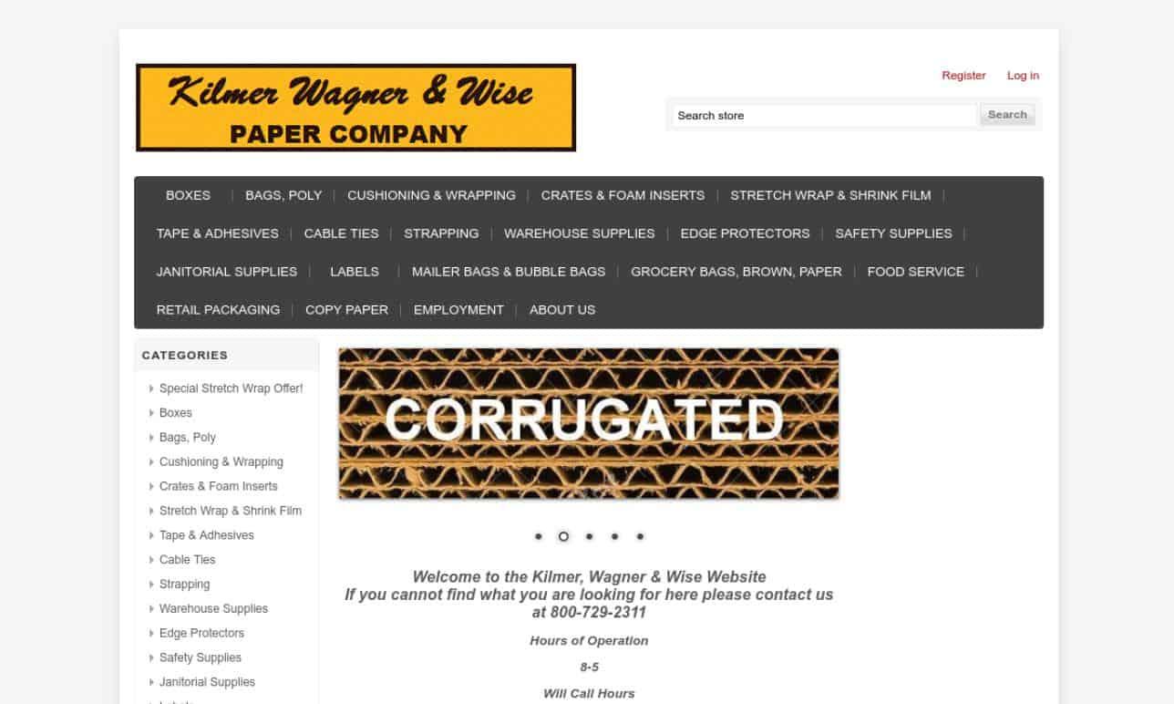 Kilmer, Wagner & Wise Paper Company, Inc.