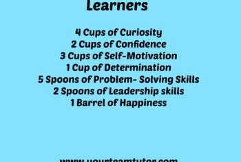 Recipe for Successful Learner