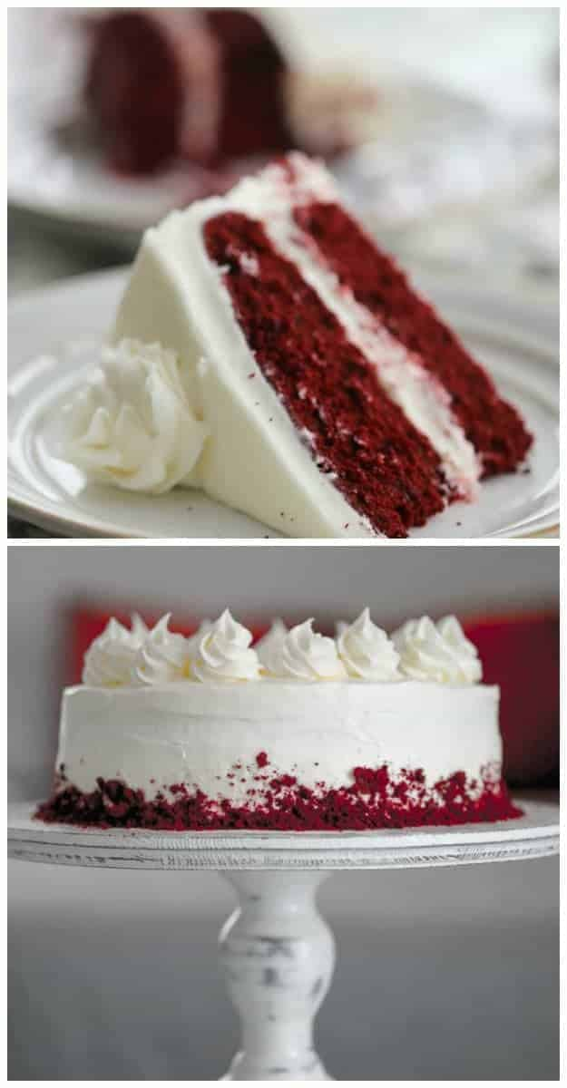 """American Beauty"" Retro Red Velvet Cake"