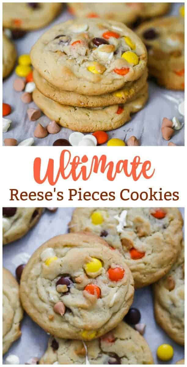 Ultimate Reese's Pieces Cookies