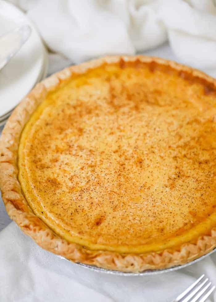 Creamy Custard Pie