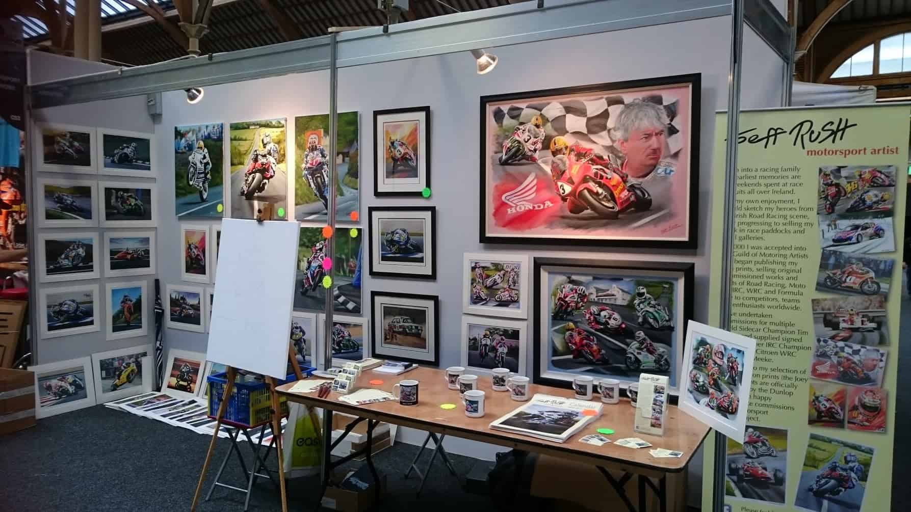 Jeff Rush Motorsport Artworx Artist Shop
