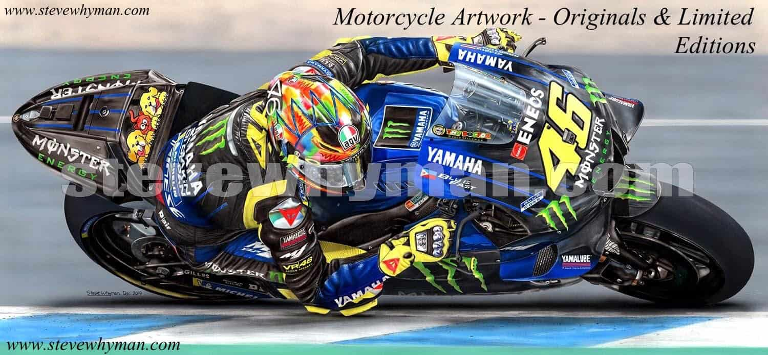 Steve Whyman Limited Edition Motorcycle Art