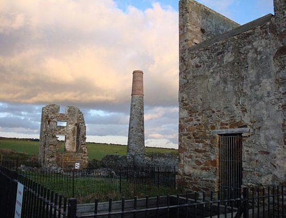 A view of the pumping station at Tankardstown, Bunmahon - The Irish Place