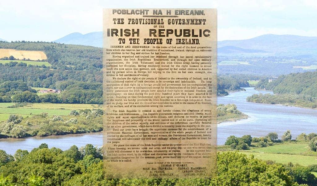 The Irish Proclamation of Independence - The Irish Place
