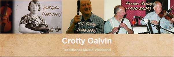 Crotty Galvin Traditional Music Weekend