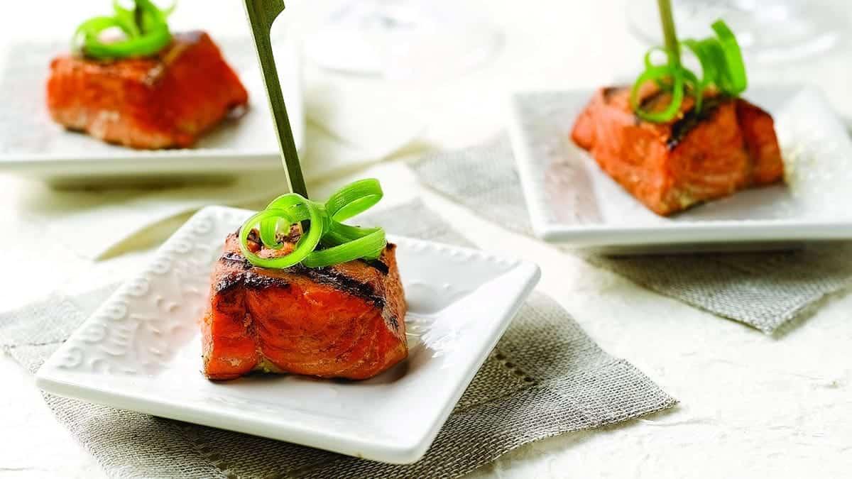 Sockeye Salmon Bites