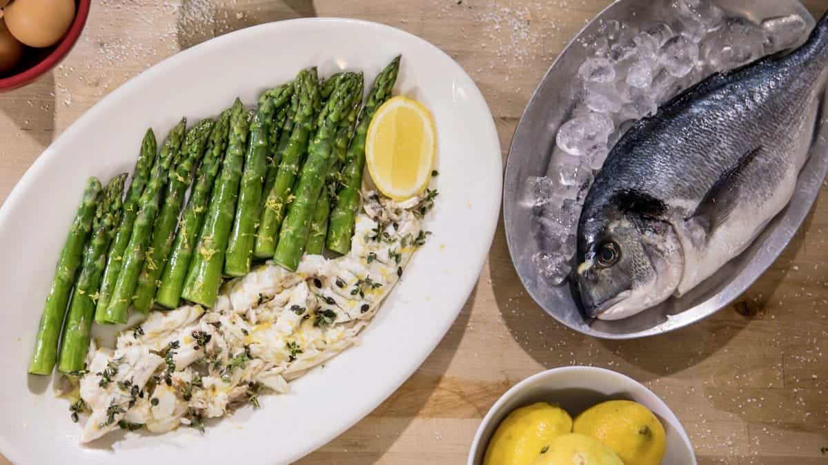 Salt Crusted Mediterranean Sea Bream