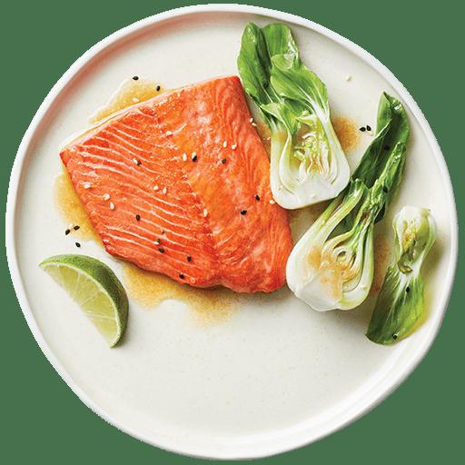 Pan-Seared Sockeye Salmon with Miso Butter