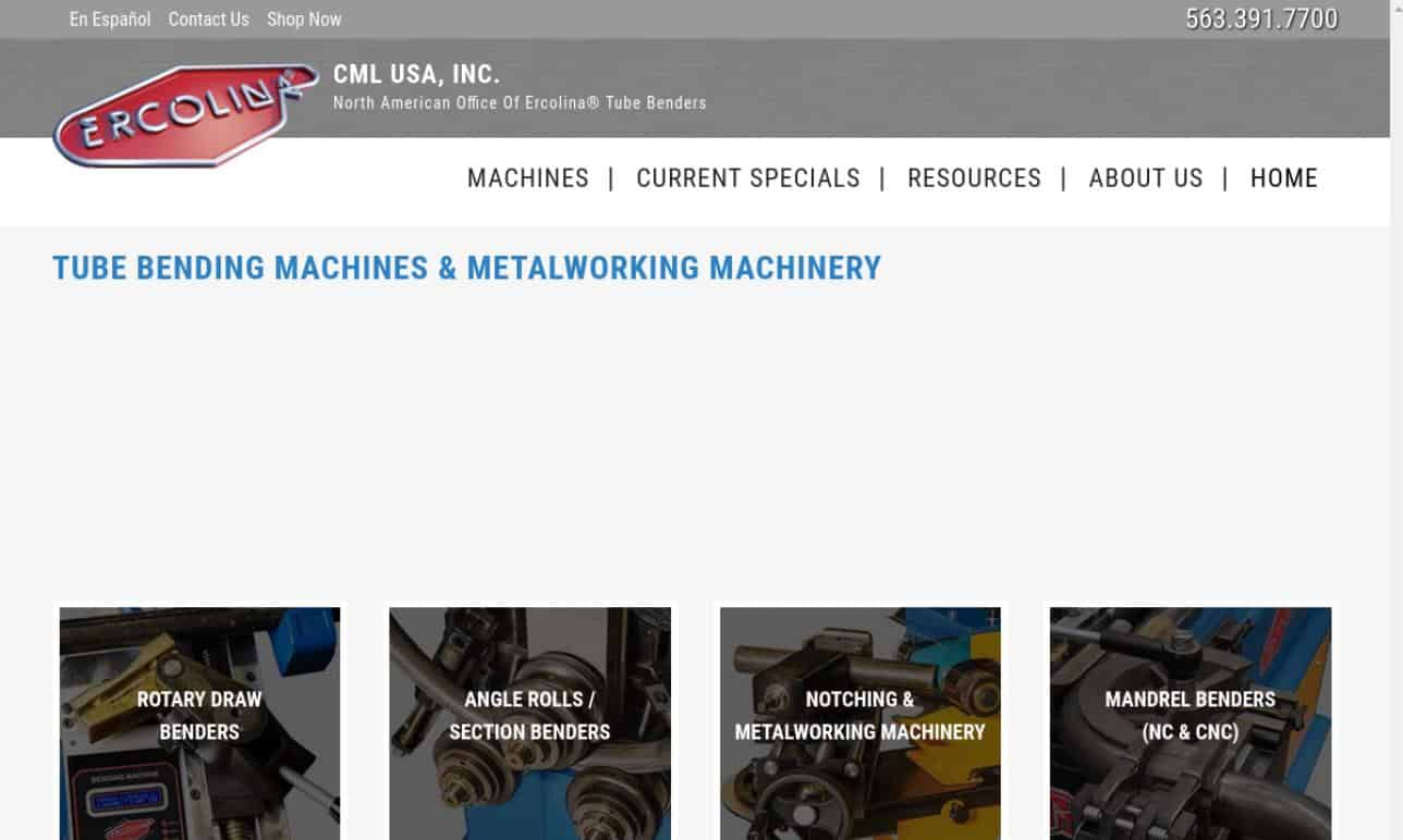 CML USA-Ercolina® Inc.