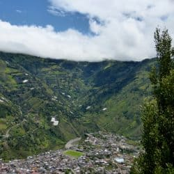 Banos Ecuador – Active Volcano and Hot Spring Spa