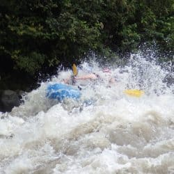 Whitewater Rafting in Banos, Ecuador