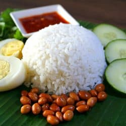 Coconut Rice – Nasi Lemak