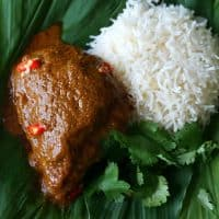 Chicken Rendang – Malaysian Coconut Curry Chicken