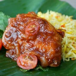 Ayam Masak Merah – Tomato Chicken Curry
